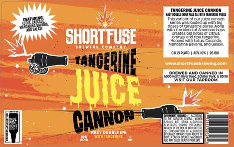 Tangerine Juice Cannon