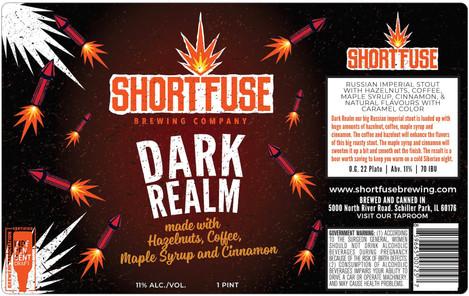 Dark Realm Hazelnuts, Coffee, Maple Syrup and Cinnamon