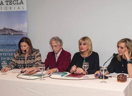 """Presentación en Madrid del libro """"Requiem por Peter Pan en Ibiza"""". Carlos Martorell"""