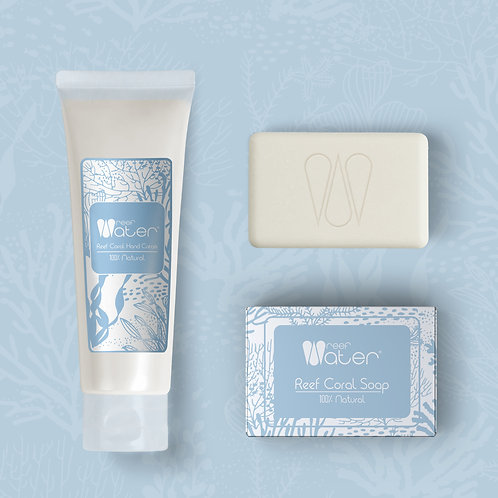 OFERTA Pack Reef Coral Soap + Reef Coral  Hand Cream