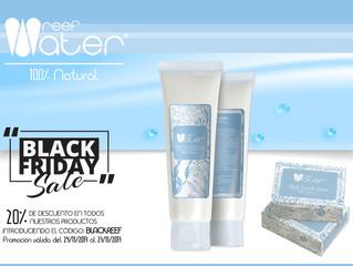 Black Friday 20% de descuento en todos los productos Reef Water Dermatologie