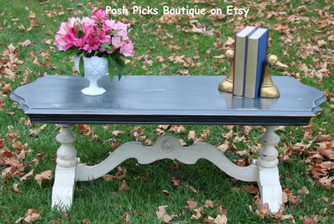 Refinished Vintage Coffee Table