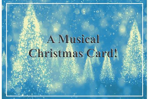 A Musical Christmas Card