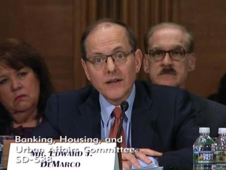 HPC President Testifies Before Senate Banking Committee
