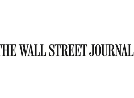 Wall Street Journal Article on Industry Response to COVID-19