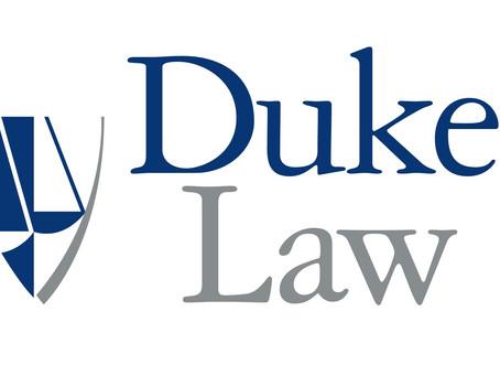 Ed DeMarco Speaks to Duke Law's Global Financial Markets Center