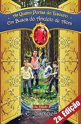 Em Busca do Amuleto e Aloni, o primeiro livro da série As Quatro Portas do Tesouro