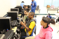 General Bailey with daily class at LaMarque ISD