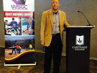 LTC Williams @ the Wisconsin Space Grant Consortium