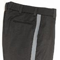 Black Slacks with Red Stripe (Female)