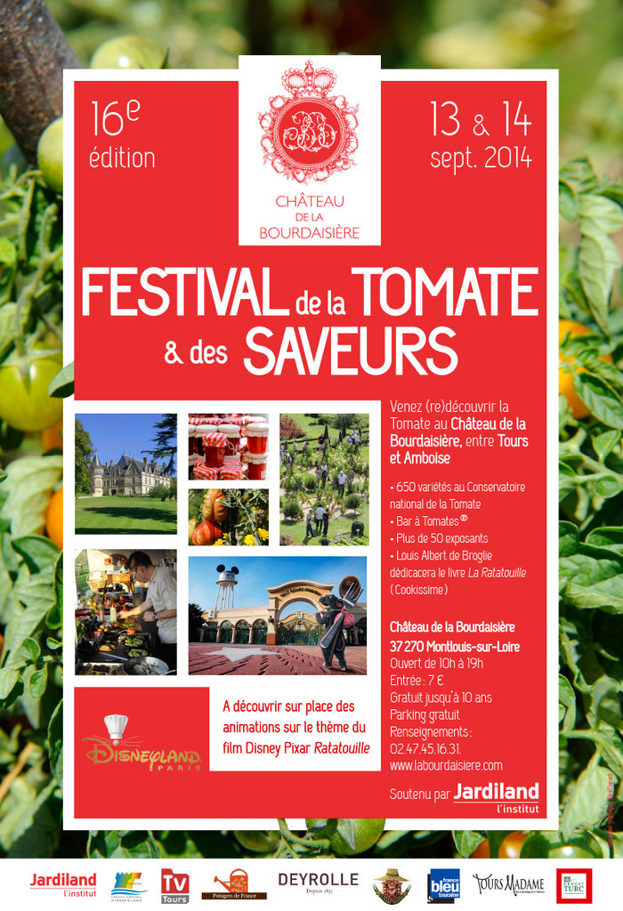 Le Fauteuil Adirondack Verneuil s'expose au Festival de la Tomate du Château de la Bourdaisière à Mo