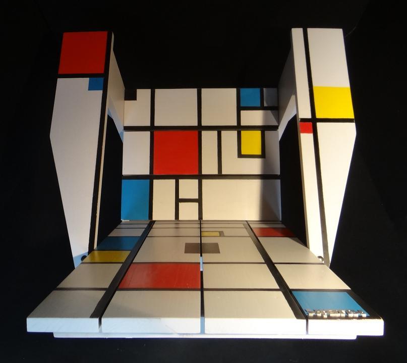 Fauteuil Adirondack Kubik Mondrian 2