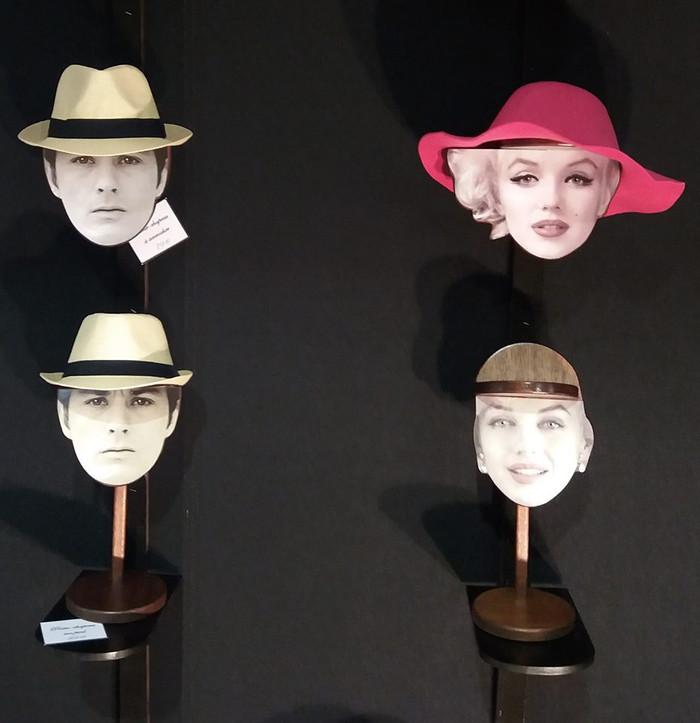 """Les porte-chapeaux """"Tête à Chapeau ®"""""""