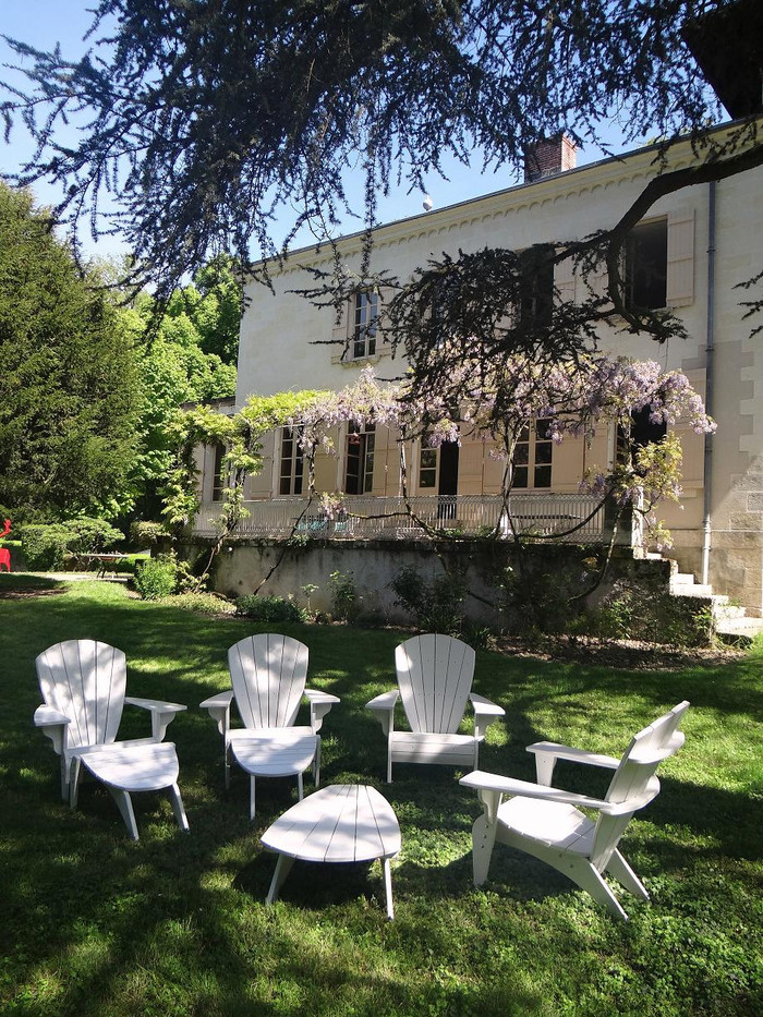 Livraison d'un salon de jardin Verneuil en Touraine