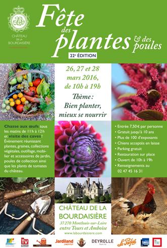 Le Fauteuil Adirondack Verneuil exposera à La Fête des Plantes du Chateau de la Bourdaisière du 26 a