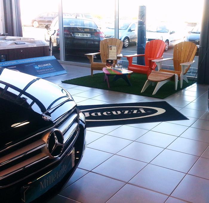 Le Fauteuil Adirondack Verneuil aux Portes-ouvertes Mercedes Etoile Poitiers