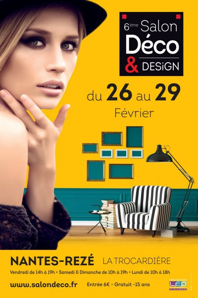 Le Fauteuil Adirondack Verneuil s'expose Au Salon Déco & Design de Nantes Rezé du 26 au 29 F