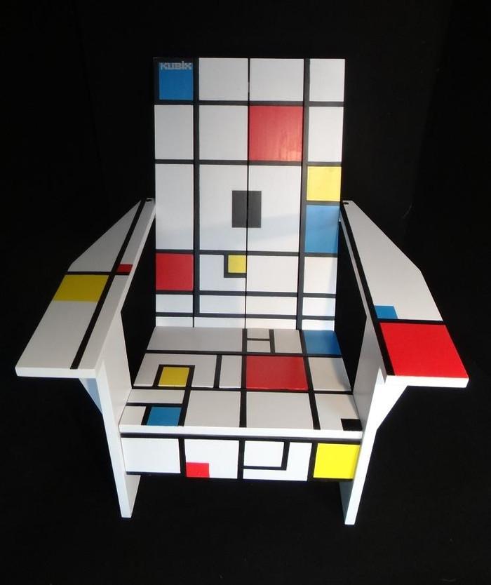 """Le Fauteuil Kubik """"Mondrian"""""""