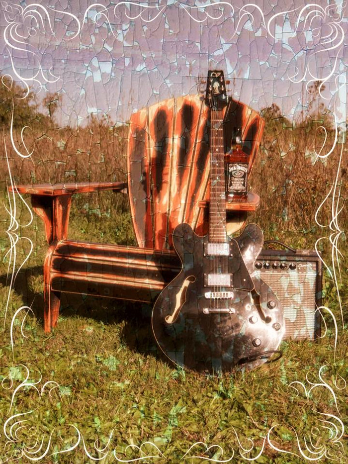 Le Fauteuil Adirondack Rock'n'Roll Factory