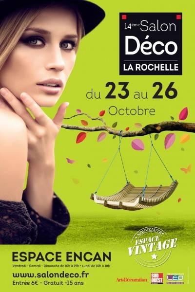 Le Fauteuil Adirondack Verneuil sera présent au Salon Déco de La Rochelle...du 23 au 26 Octobre 2015