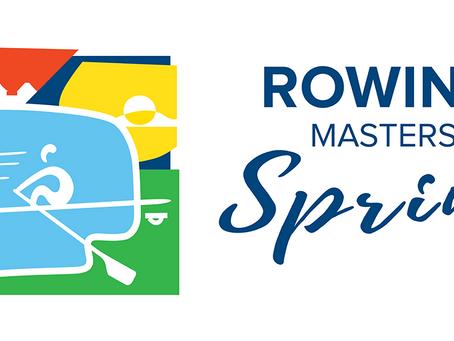 Rowing masters sprint Trakai 2019.