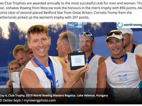 2019world rowing masters reggata Lake Velence, Hungary
