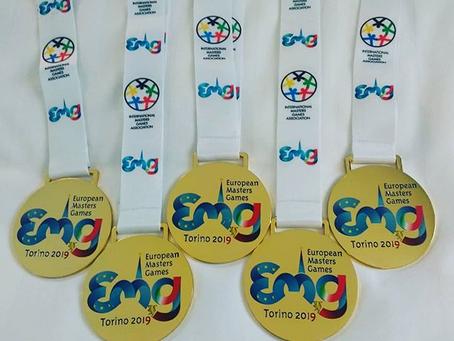 European masters games 2019 Torino 2019