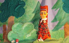 Gelbe Marionette