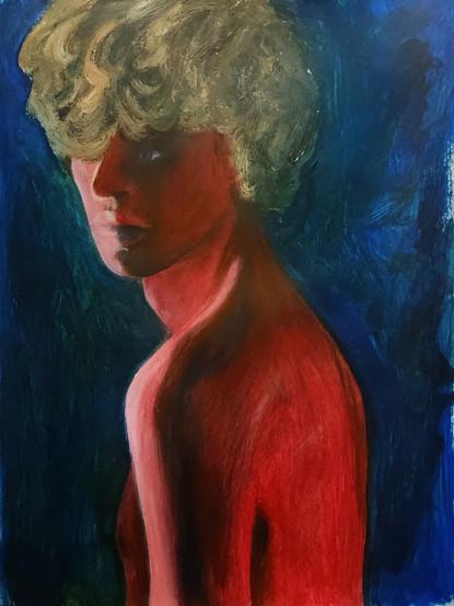 acrylic portrait III