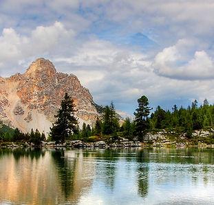 Mountain Lake Spiegelung