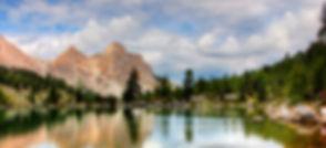 Mountain Lake Reflection