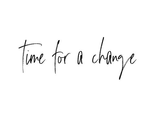 #timeforachange