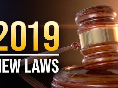 New Laws Take Effect!
