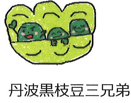 丹波黒枝豆三兄弟(丹波黒枝豆)