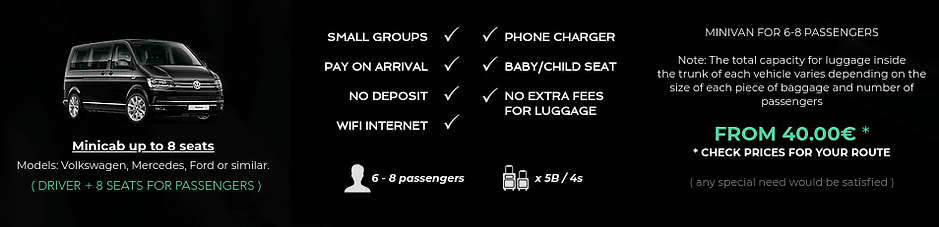 Minicab Transfer Malaga