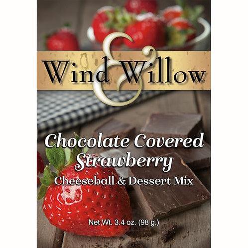 Chocolate Covered Strawberry Cheeseball & Dessert Mix
