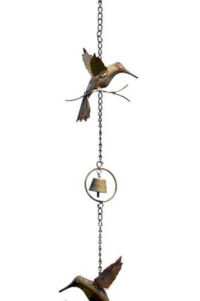 HUMMING BIRD RAIN CHAIN