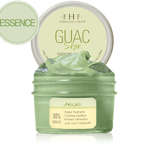 WOMEN'S GIFTSGuac Star® Soothing Avocado Hydration Mask