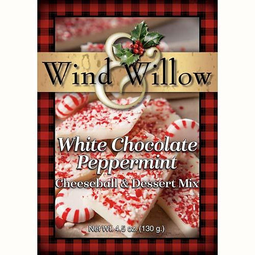 Holiday - White Chocolate Peppermint Cheeseball & Dessert Mix