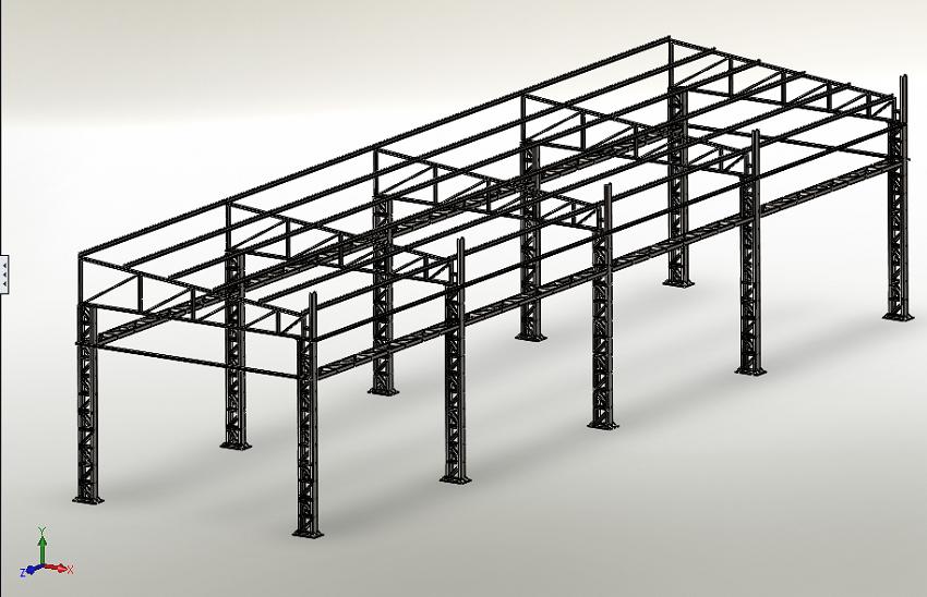 estrutura aço