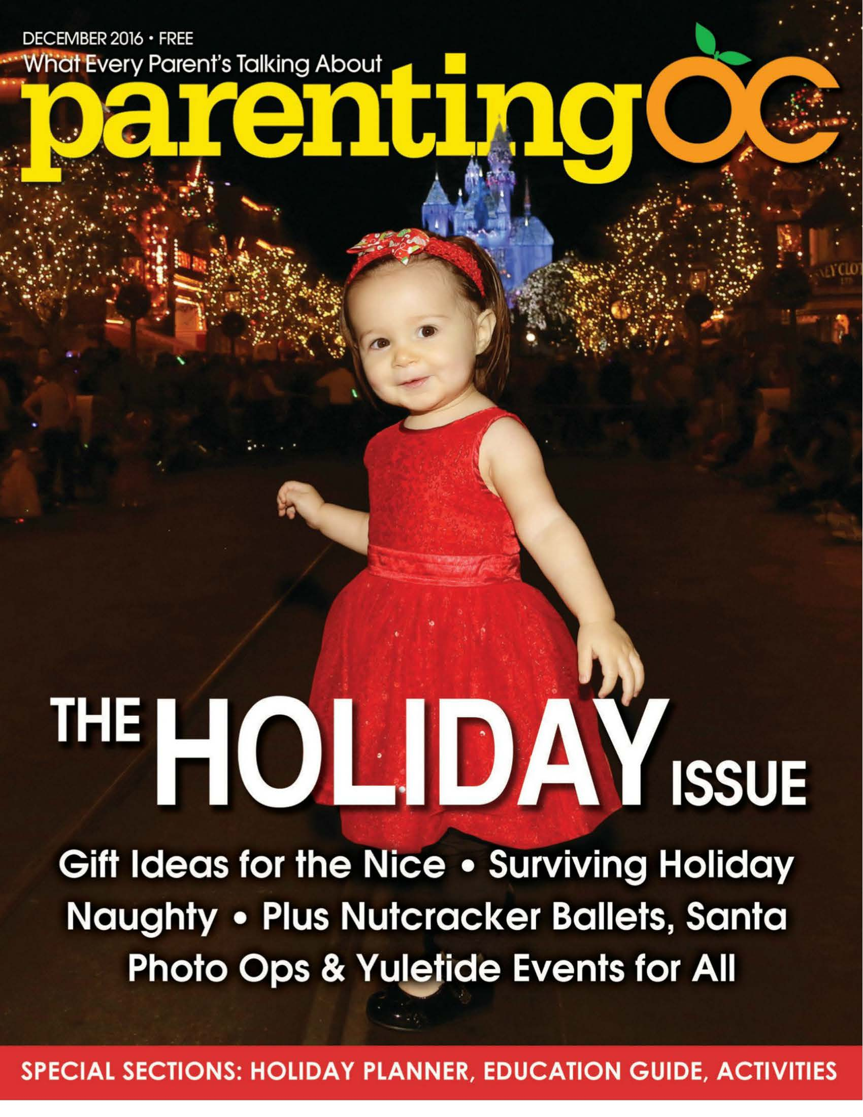 December Issue-Parenting OC Magazine