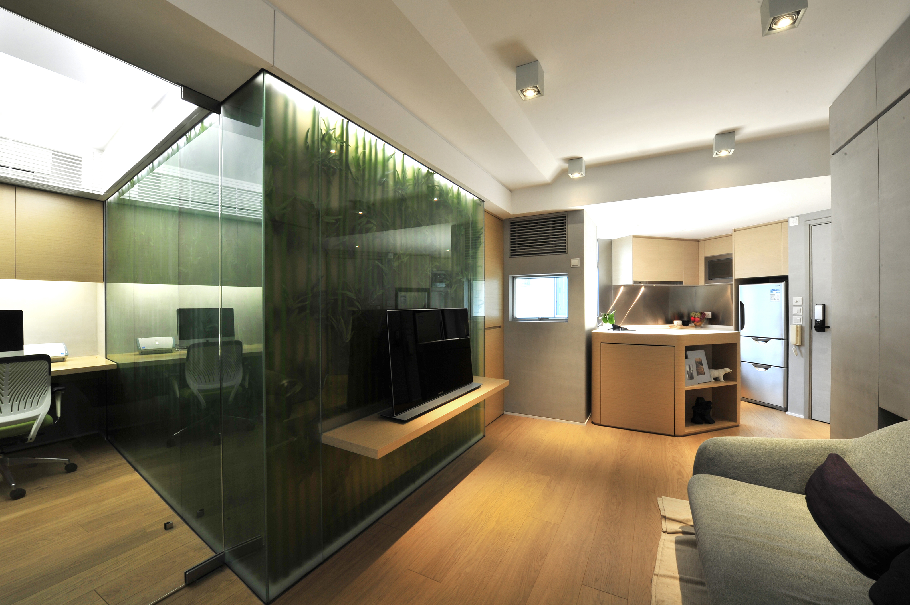 家居設計 Home Design hk  _綠_升級的家 Green within 600sqft (4)