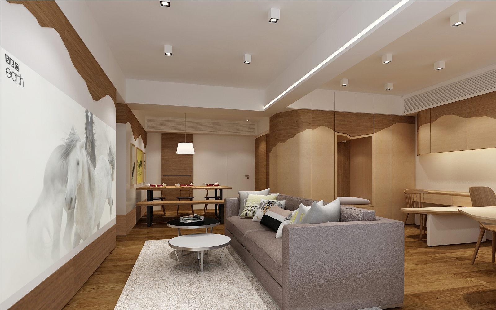 家居設計 Home Design hk 山景觀 Mountain Scape Apartment  (5)