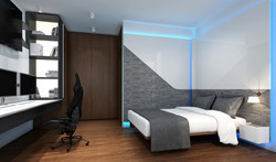 家居設計 雪白分層 Layers of Snow Apartment (3)