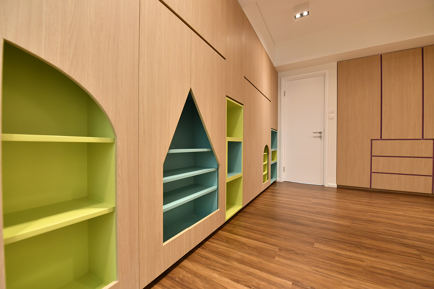 家居設計 Home Design hk 山景觀 Mountain Scape Apartment  (7)
