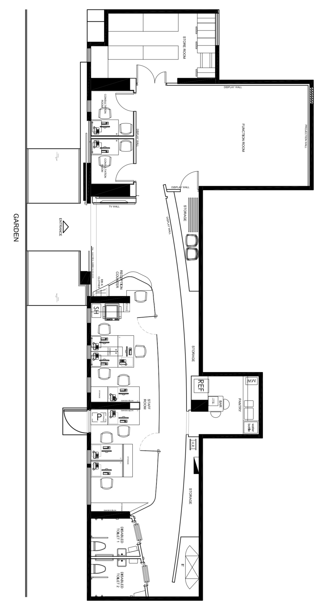 再生會 Regeneration Society Center Plan