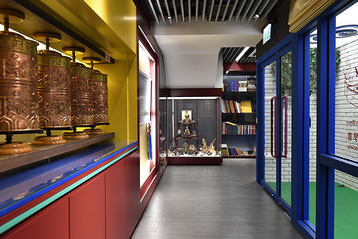 佛教中心設計Buddhist Center Design Karma Kagyu HK  (2)