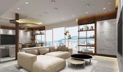 家居設計 雪白分層 Layers of Snow Apartment (1)