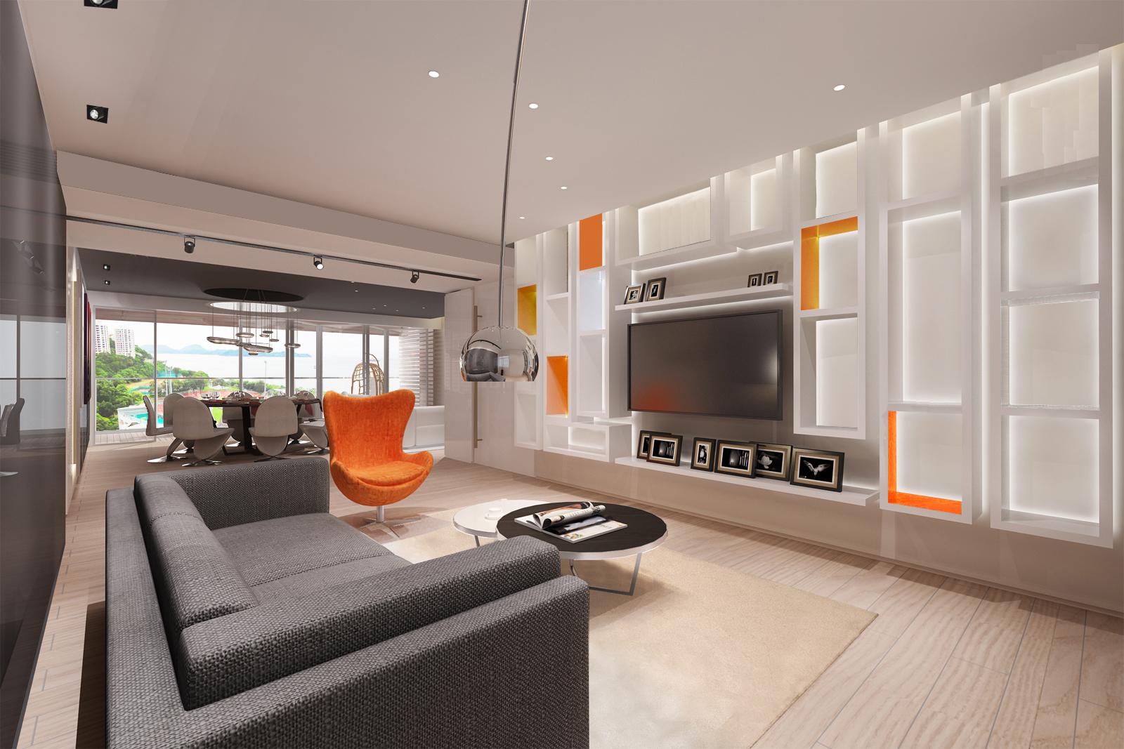 Home Design hk Stephanie Wong Apartment  master bedroom (12)