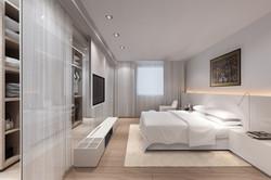 Home Design hk Stephanie Wong Apartment  master bedroom (11)